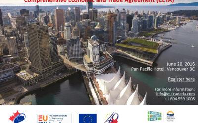 Accordi commerciali Canada UE Tedesco segue l'evolversi dell'accordo CETA