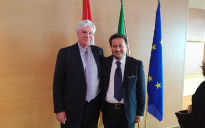 The Canada Opportunity Enrico Tedesco incontra l'Ambasciatore Nordamericano in Italia